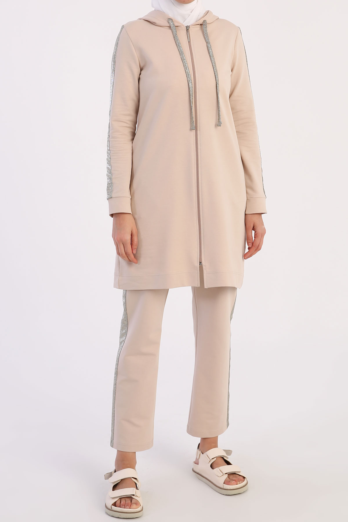Hooded Plus Size Track Suit
