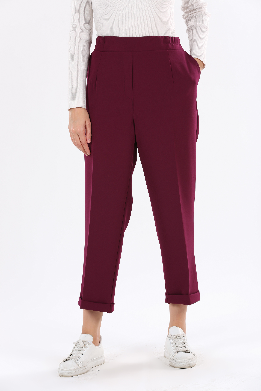 Plus Size Fabric Hijab Pants