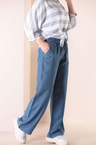 Büyük Beden Tensel Pantolon