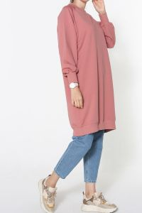 PLUS SIZE RAGLAN SLEEVE TUNIC