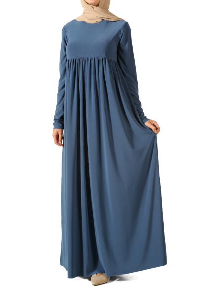 Büzgülü Salaş Elbise