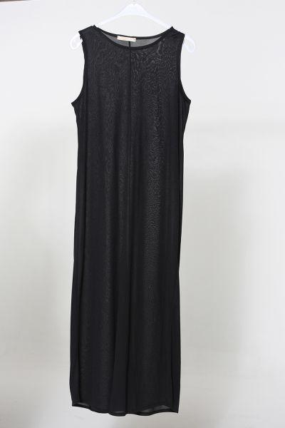 Büzgülü İçlikli Kemerli Elbise