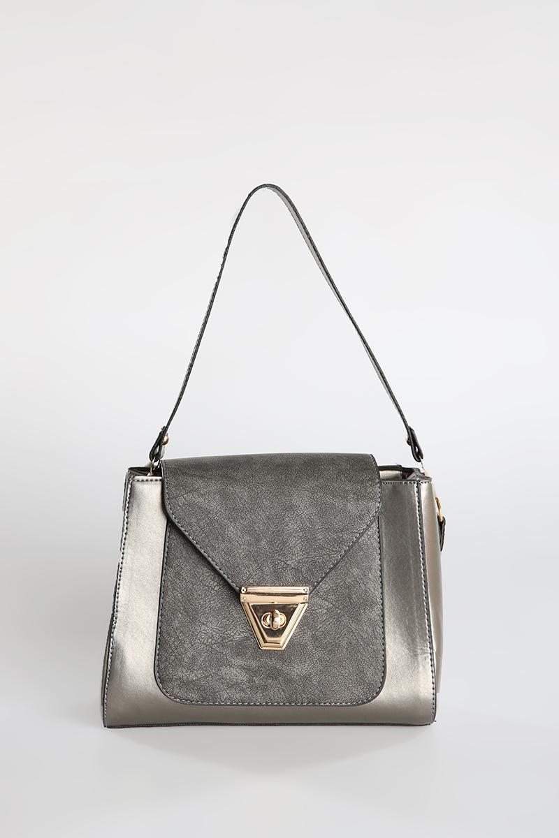 Cross Zippered Bag