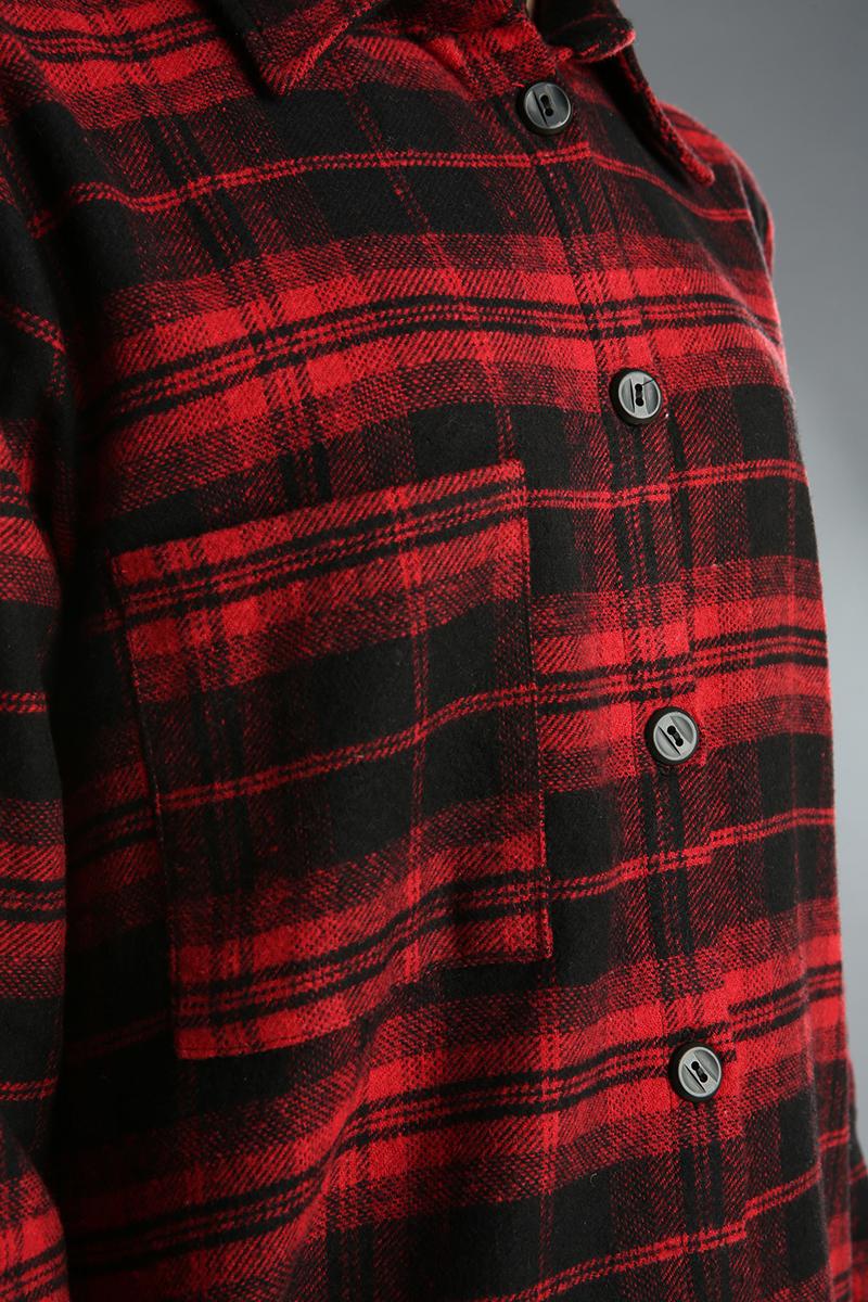 Pocket Detailed Shirt Tunic