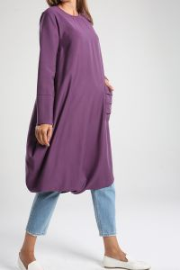 Hidden Zipper Tunic