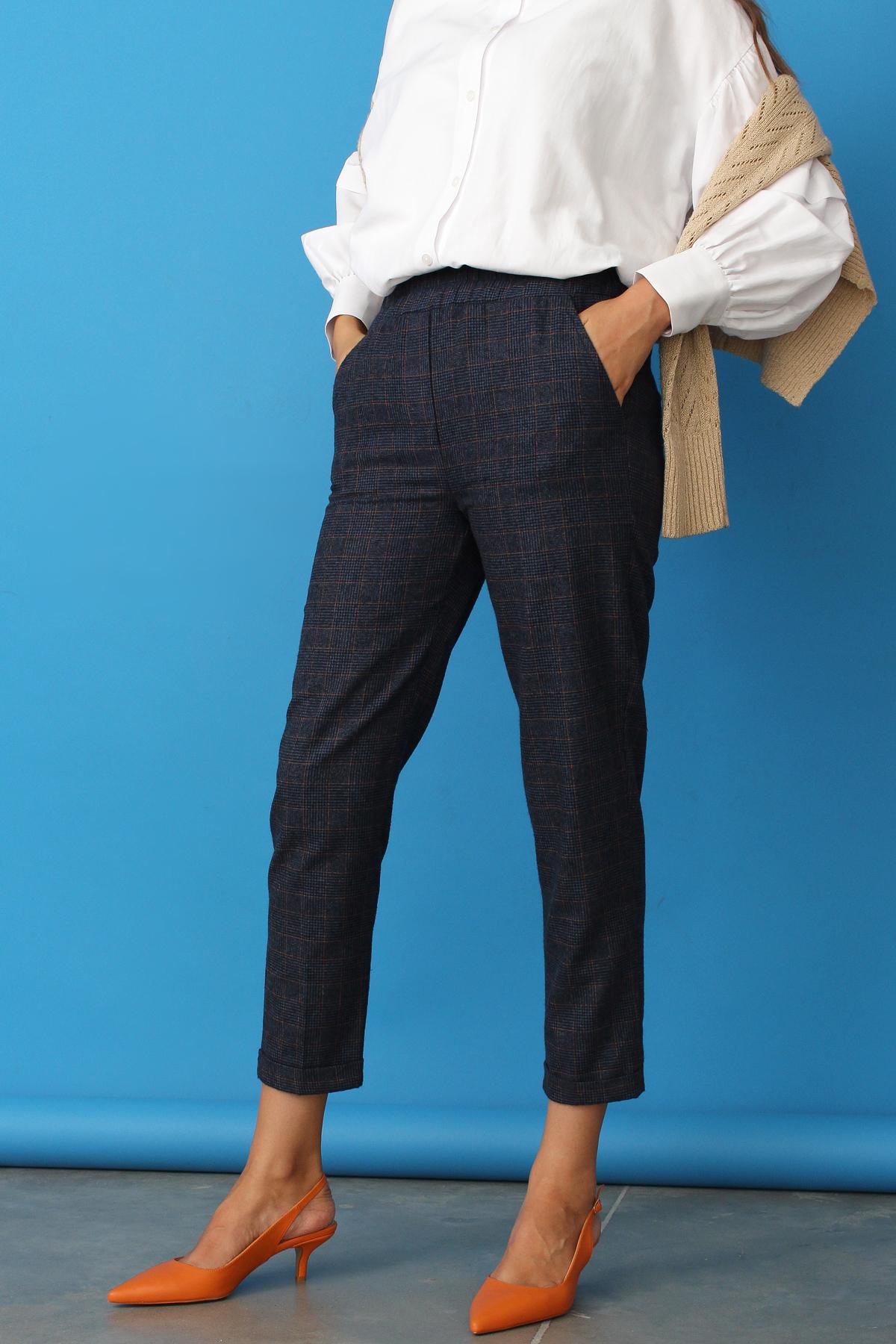 High Waist Pocket Hijab Pants