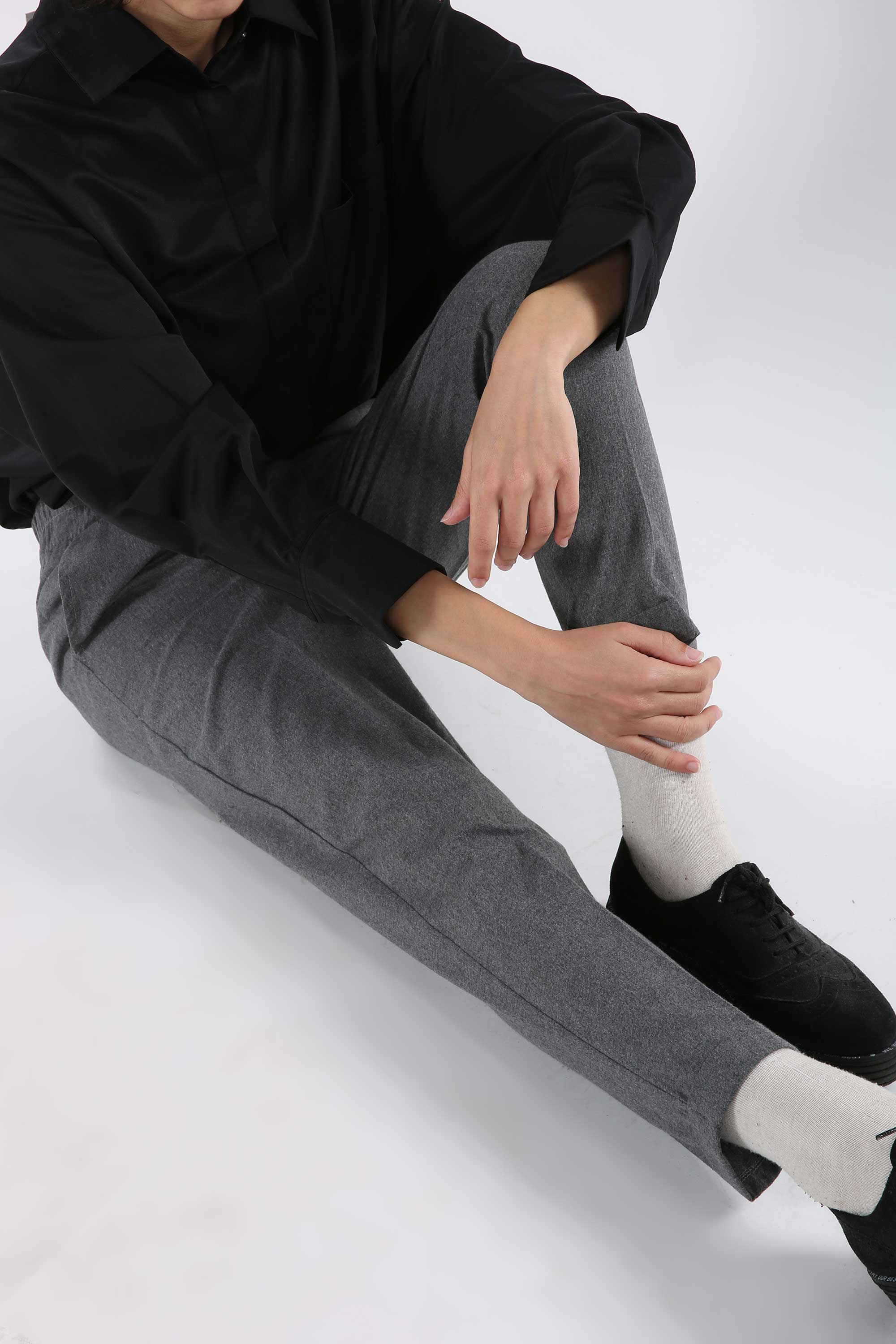 Pull-on Pants With Pocket