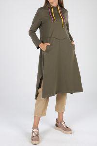 Colorful Pocket Dress Tunic