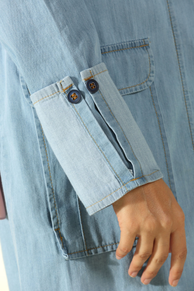 POCKET DENIM JACKET