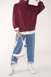 Hooded Pocket Comfortable Mold Sweatshirt