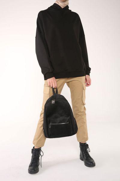 Hooded Pocket Comfortable Mold Sweatshirt