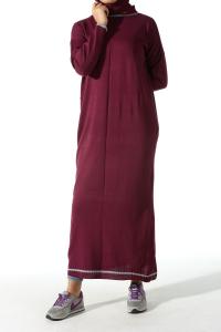 POCKETS KNITWEAR DRESS