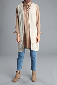 Pocket Knitwear Vest