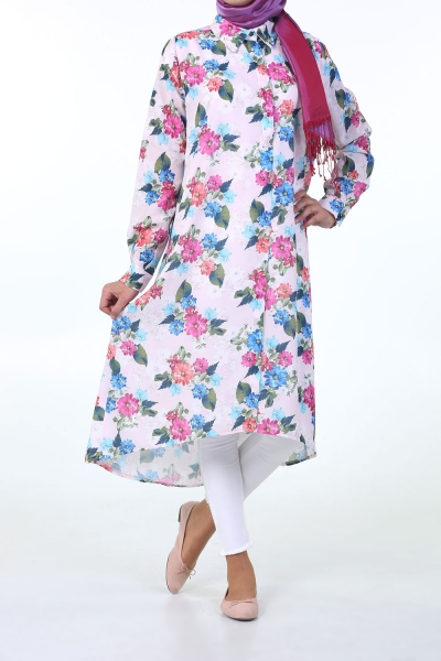 FLOWER DESIGNED TUNIK