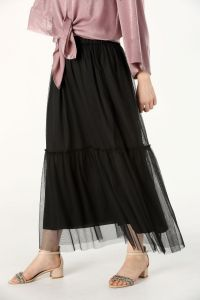 DOUBLE LINED SKIRT