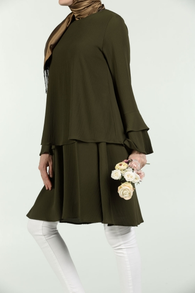 DOUBLE FLOW VOLAN TUNIC