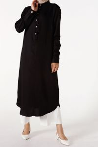 DOUBLE BLACK TUNIC