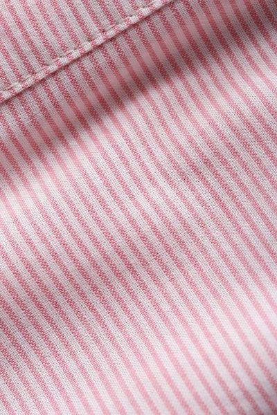Çizgili Geniş Manşetli Uzun Gömlek Tunik