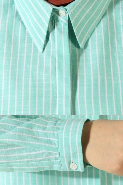 Çizgili Gömlek Tunik