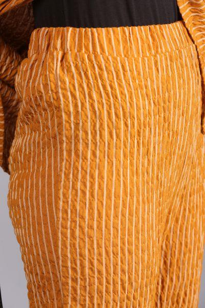 T Kol Çizgili Pantolonlu Takım