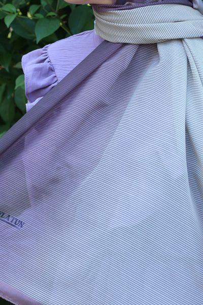 Çizgili Polyester Eşarp