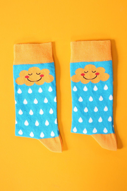 Desenli Çorap