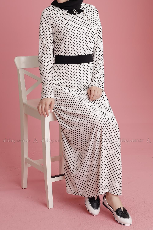 DANTEL BELT DRESS