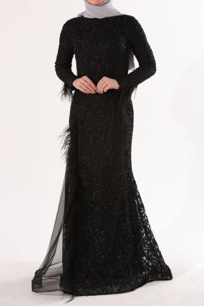 a2aa5f80ad73f Tesettür Abiye Elbise Modelleri | Allday