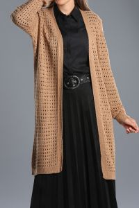 Long Knitwear Cardigan