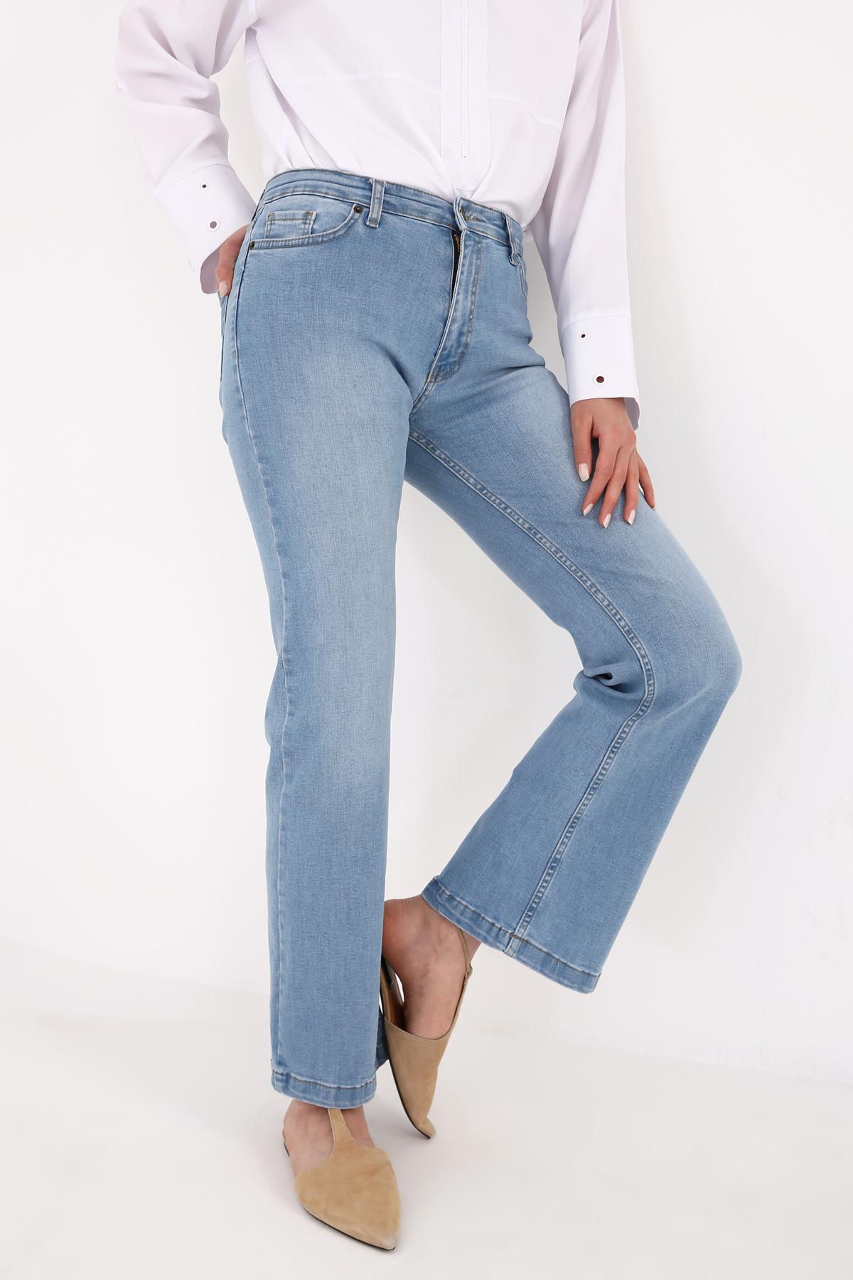 Bootcut Denim Pants
