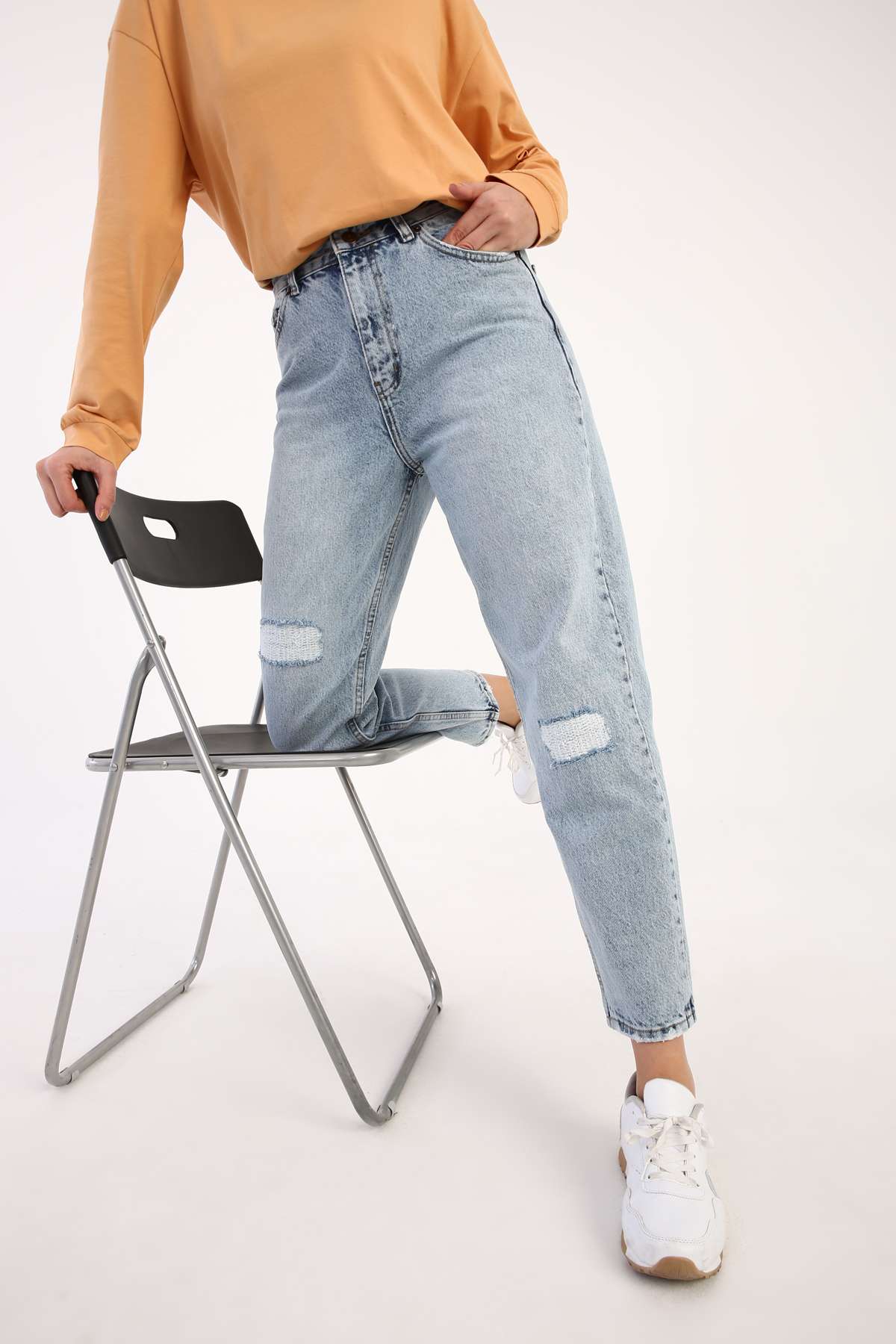 100% Cotton Denim Pants