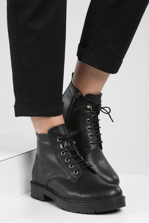 Zippered Boot