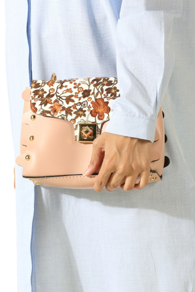 Desenli Çapraz Çanta