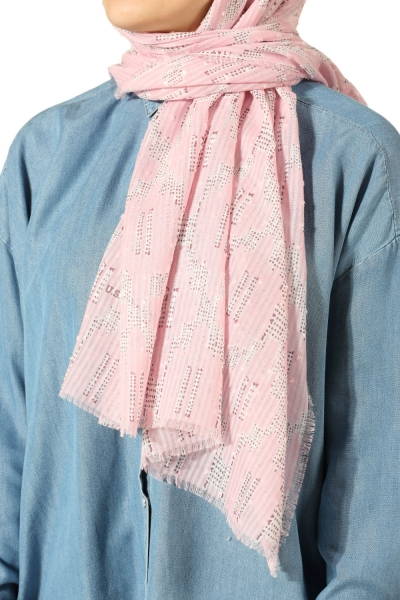 Patterned Polo Shawl