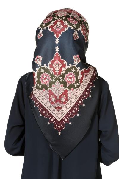 Desenli Tafta Eşarp