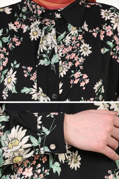 FLOWER DESIGNED TUNIK