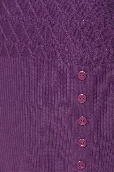 Düğmeli Desenli Tunik