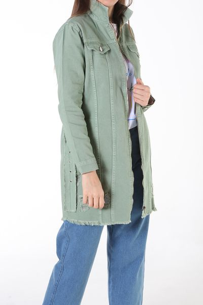 NATURAL FABRIC HIJAB JACKET