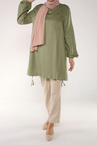 NATURAL FABRIC TUNIC
