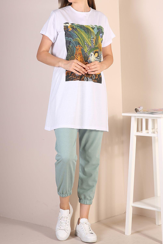 Doğal Kumaş T-Shirt