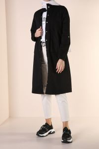 NATURAL FABRIC TRENCH COAT