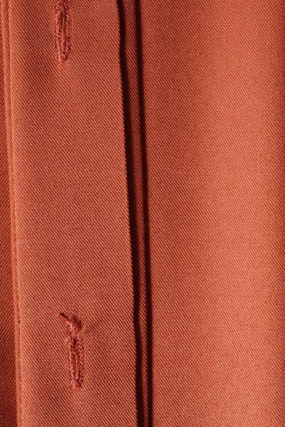 Doğal Kumaş Yırtmaçlı Tunik
