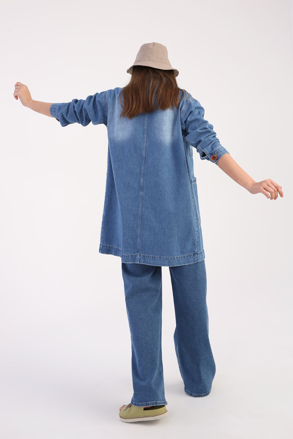 Comfy Denim Jacket With Pocket