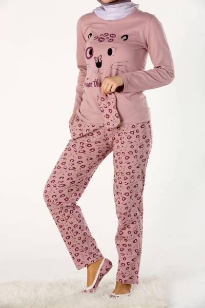 Dörtlü Pijama Takımı
