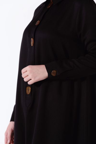 BUTTONED DETAIL TUNIC