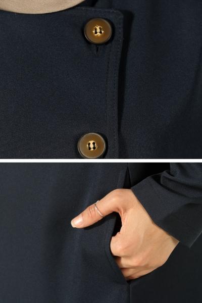 Düğmeli Kap