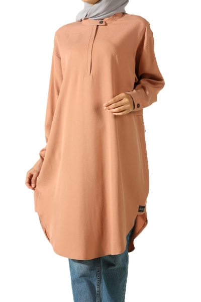LOW COLUMN TENSEL TUNIC
