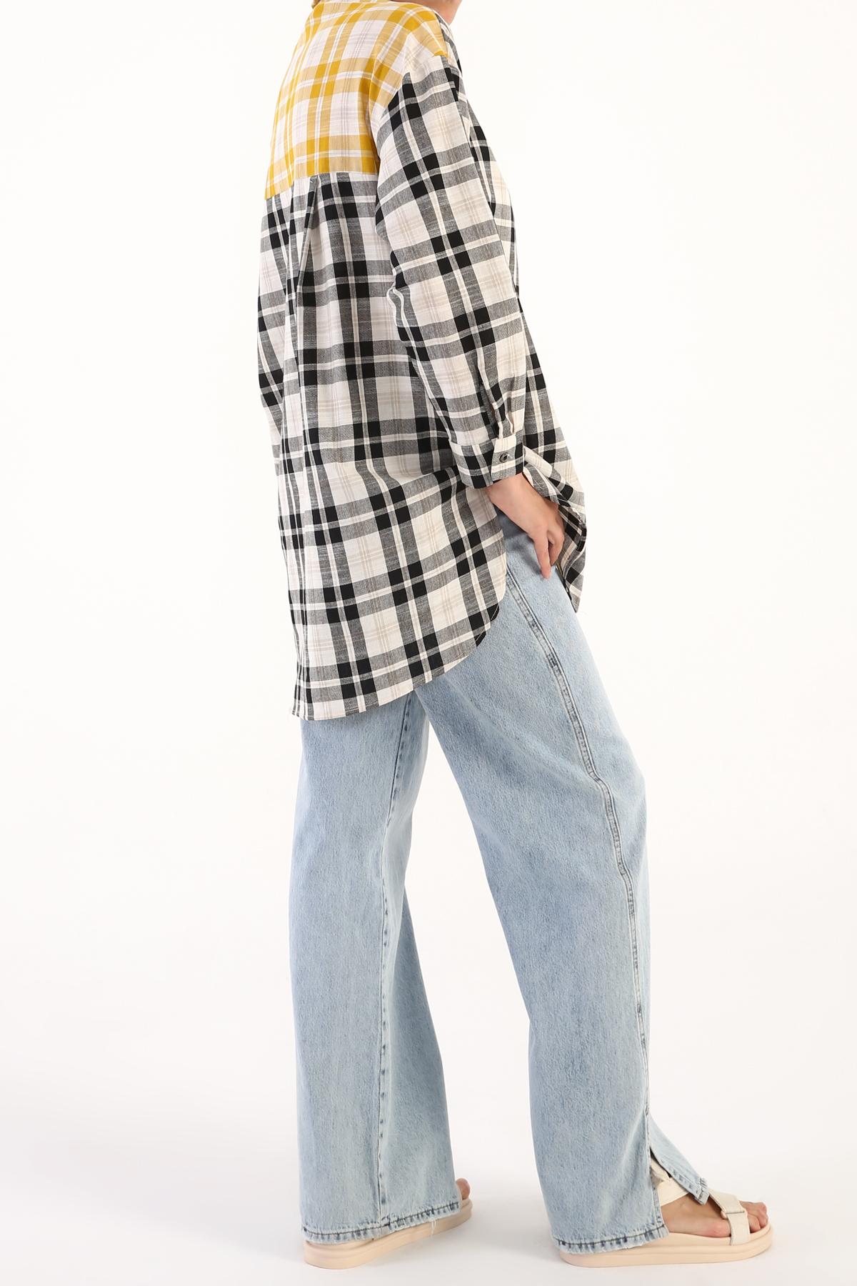 Plaid Shirt Tunic