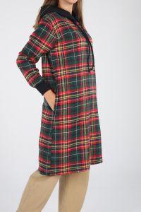 Plaid Hooded Tunic