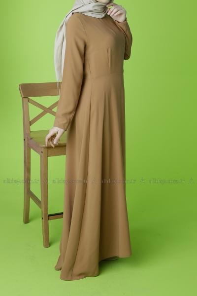 Beli Fiyonklu Elbise
